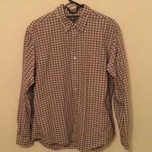Polo Ralph Lauren Plaid Broad Cloth Oxford Shirt